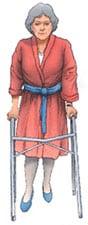 Rehabilitar prótesis rodilla - Caminar