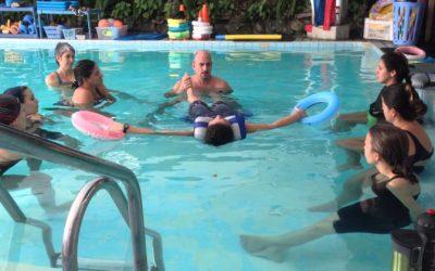 Método Halliwick, uno de los programas más utilizados en terapia acuática