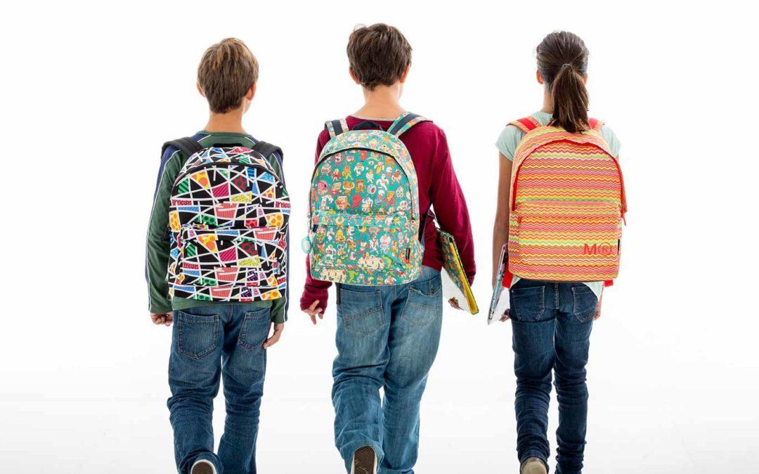 Consejos para cuidar la espalda de nuestros pequeños