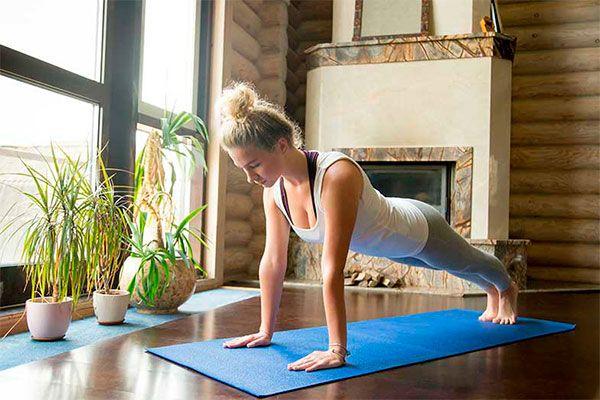 Pilates en casa 4 Ejercicios básicos